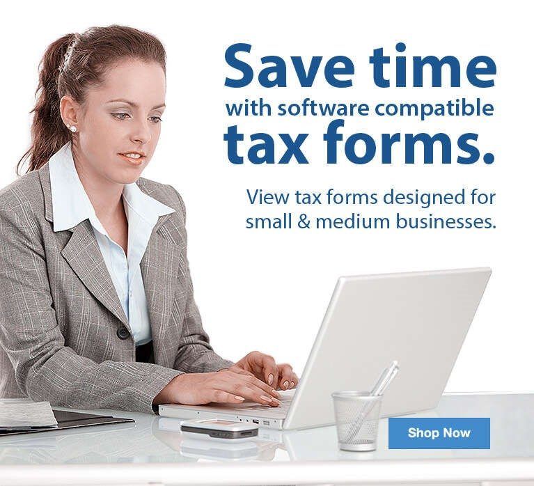Save Time with Compatible Tax Forms  - Shop Now